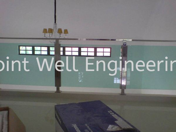 Tempered Glass Stainless Steel Balcony Railing Johor Bahru (JB), Johor Installation, Supplier, Supplies, Supply | Joint Well Engineering