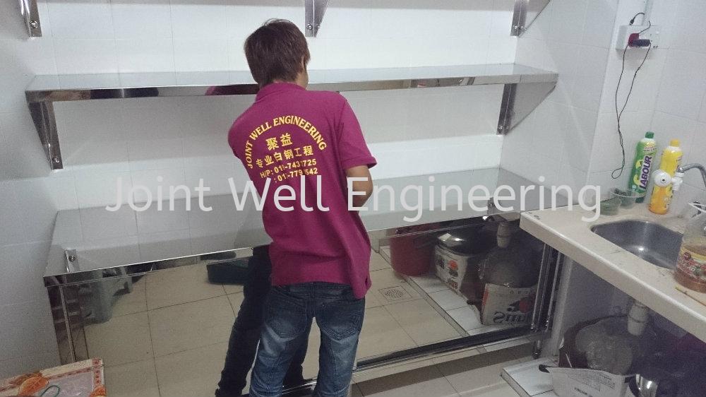 Stainless Steel Overhead Rack Johor Bahru (JB), Johor Installation, Supplier, Supplies, Supply   Joint Well Engineering