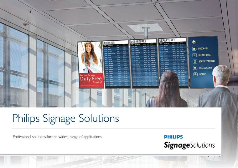 Signage Solutions Philips Digital Signage Malaysia, Selangor, Kuala Lumpur, KL. Supplier, Provider, Supply, Supplies | Adventure Multi Devices Sdn Bhd