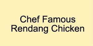 名厨特色仁当鸡 Chicken Johor Bahru, JB, Johor, Skudai, Ulu Tiram, Taman Mount Austin, Taman Gaya, Taman Jaya Mas. Buffet Catering, Cafe | Culinary Chef Food Industries Sdn Bhd