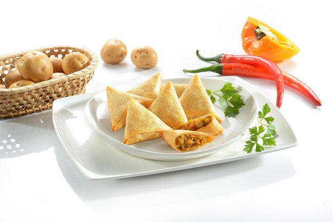 Curry Samosa Uniifood Brand Prai, Penang, Pulau Pinang, Malaysia. Supplier, Suppliers, Supplies, Supply | Unique Frozen Food (M) Sdn Bhd