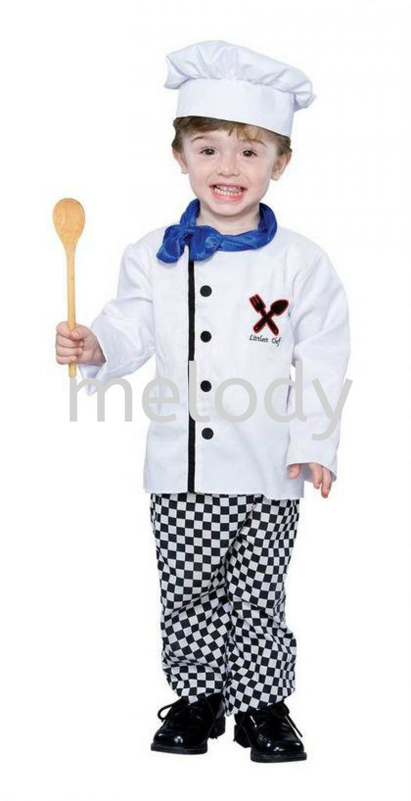Little Chef kids costume