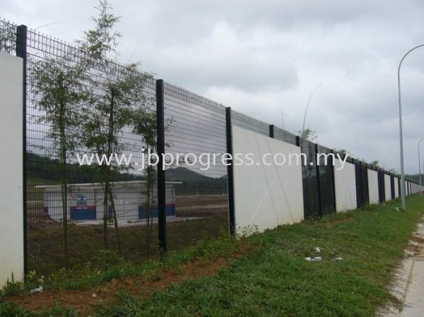 Fencing Works Fencing Works Johor Bahru, JB, Senai, Johor. Supplier, Supplies, Supply, Manufacturer   JB Progress Fabricator & Engineering Sdn Bhd