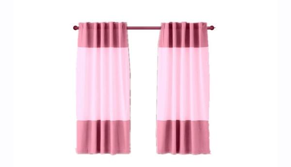 Border Type Curtain Modern Curtain Type Johor Bahru, JB, Johor, Malaysia. Supplier, Design, Installation | Middle Curtains Design & Furnishing