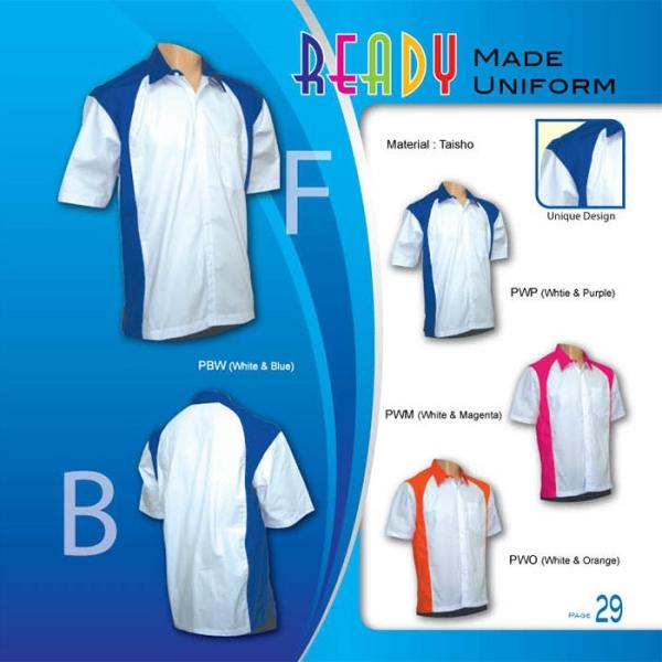 Uniform Ready Made Johor Bahru JB Malaysia Uniforms Manufacturer, Design & Supplier | Pan Uniform Manufacturing Sdn Bhd