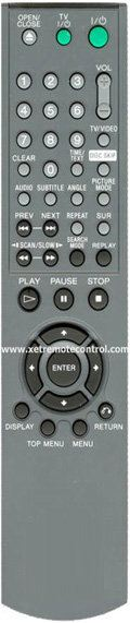 RMT-D152E SONY DVD REMOTE CONTROL SONY  DVD REMOTE CONTROL Johor Bahru JB Malaysia Manufacturer & Supplier | XET Sales & Services Sdn Bhd