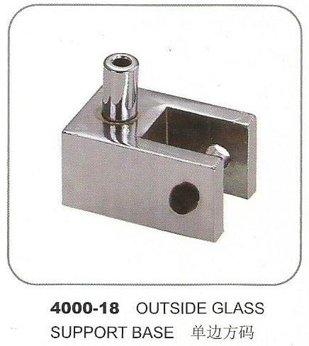 4000-18 Outside Glass Support Base  Glass Support Base Accessories Penang, Pulau Pinang, Butterworth, Malaysia. Supplier, Suppliers, Supplies, Supply | Boon Leng Hardware Trading Sdn Bhd