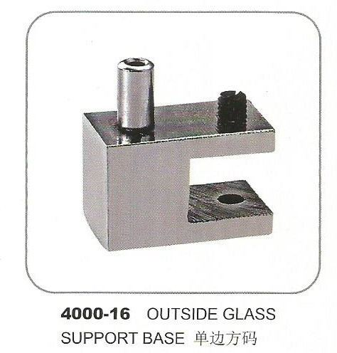 4000-16 Outside Glass Support Base Glass Support Base Accessories Penang, Pulau Pinang, Butterworth, Malaysia. Supplier, Suppliers, Supplies, Supply | Boon Leng Hardware Trading Sdn Bhd