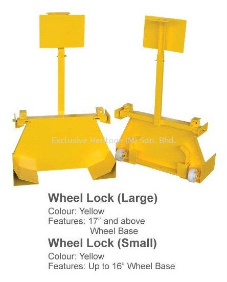 Wheel Lock (Small) Safety Products Selangor, Seri Kembangan, Malaysia supplier | Exclusive Heritage (M) Sdn Bhd