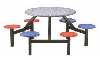 KFC-0148 (Non-Swivel) 6 Seater Fibreglass Table Fibreglass Table Selangor, Malaysia, Kuala Lumpur, KL, Sungai Buloh. Supplier, Suppliers, Supplies, Supply | Ins Metal Manufacturing Sdn Bhd