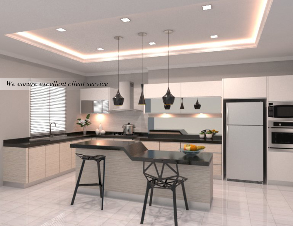 Interior Design Penang Kitchen Service Malaysia Wardrobe In P2d Studio