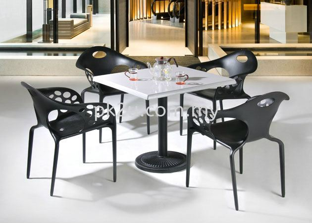 PK-SA-800-TABLE  PK-SA-800-TABLE LEG  PK-HH 644-CHAIR DINING SET Cafe & Dining Furniture Johor Bahru, JB, Malaysia Manufacturer, Supplier, Supply | PK Furniture System Sdn Bhd