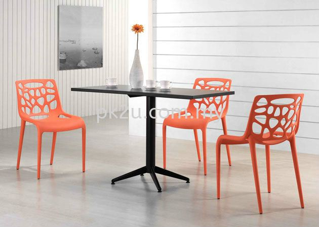 PK-TB 120 + TL 120 (LEG)  PK-HH 490-CHAIR DINING SET Cafe & Dining Furniture Johor Bahru, JB, Malaysia Manufacturer, Supplier, Supply | PK Furniture System Sdn Bhd