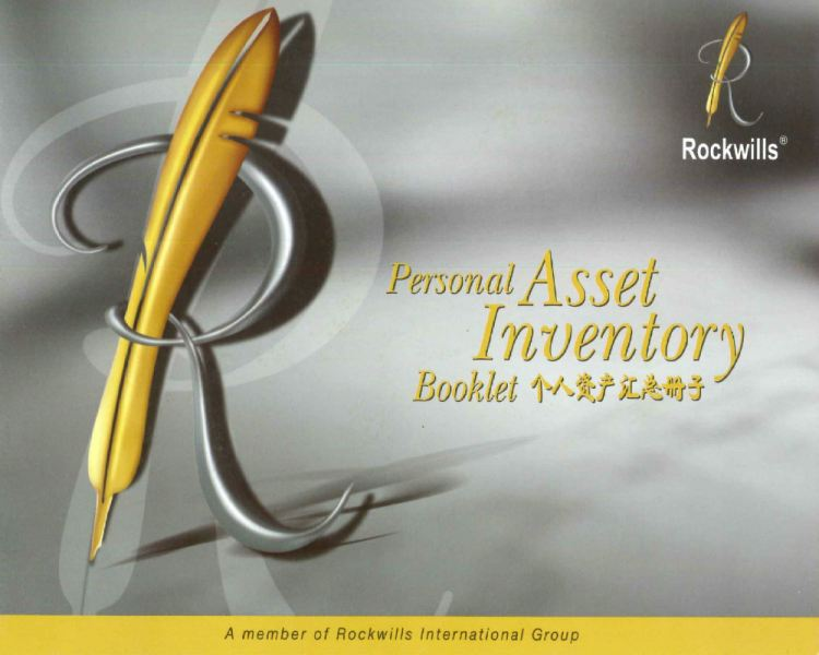 Personal Asset Inventory Booklet Will-Writing Services Johor Bahru (JB), Malaysia, Selangor, Kuala Lumpur (KL) Services | OSS Planning & Services