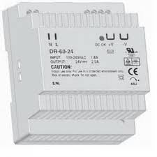 DIN RAIL Switching Power Supply - iCON DR Series - DR-45-24  DR-60-24 DR-120-24 DRP-240-24 iCON Switching Power Supply Kuala Lumpur (KL), Selangor, Damansara, Malaysia. Supplier, Suppliers, Supplies, Supply | Prima Control Technology PLT