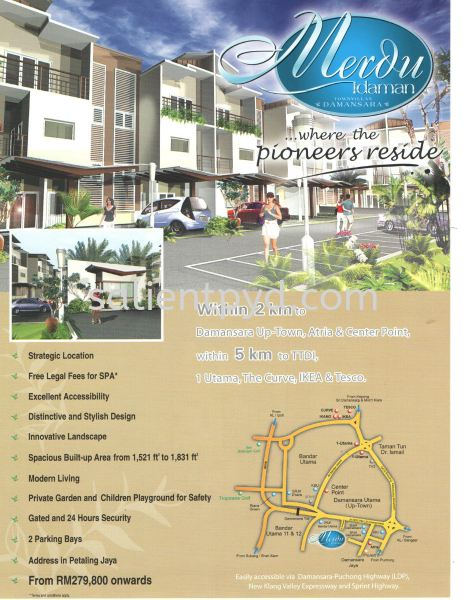 Merdu Idaman Townvillas Merdu Idaman Townvillas Completed Projects Kuala Lumpur, KL, Selangor, Malaysia. Developer, Constructor | Salient Pyramid Sdn Bhd