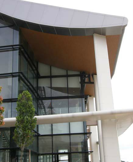 84C Ceilings-Exterior Linear Ceilings Selangor, Kuala Lumpur (KL), Malaysia. Supplier, Suppliers, Supplies, Supply   Bailey Plaster Trading Sdn Bhd
