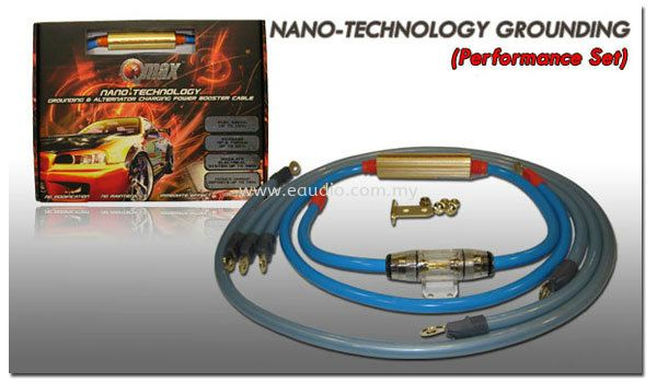 Qmax Nano-Technology Grounding Cable (Performance Set) Qmax Grounding cable Fuel and Energy Saver Selangor, Malaysia, Kuala Lumpur, KL, Ampang. Supplier, Suppliers, Supplies, Supply | E Audio Auto Accessories