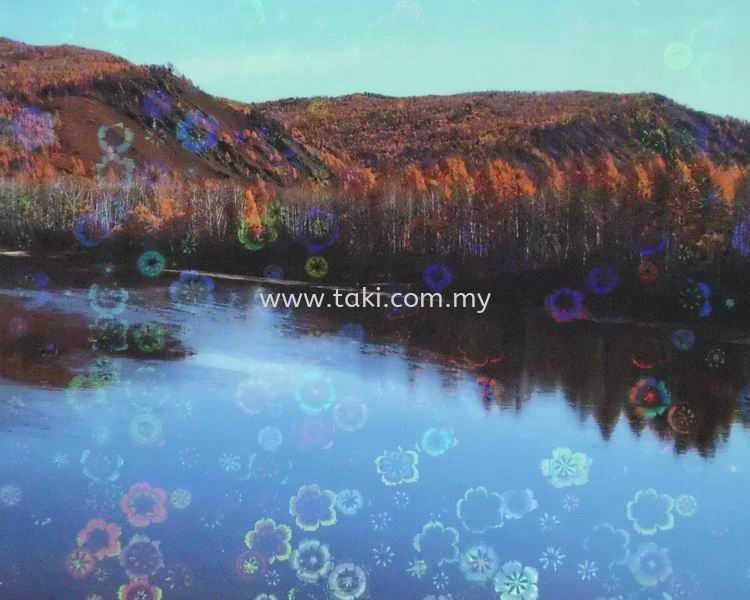 CD 814- Laser Floral Cold Laminating Film Effects Cold Laminating Film Johor Bahru (JB), Johor, Pontian, Malaysia. Supplier, Suppliers, Supplies, Supply | Taki Industries (M) Sdn Bhd
