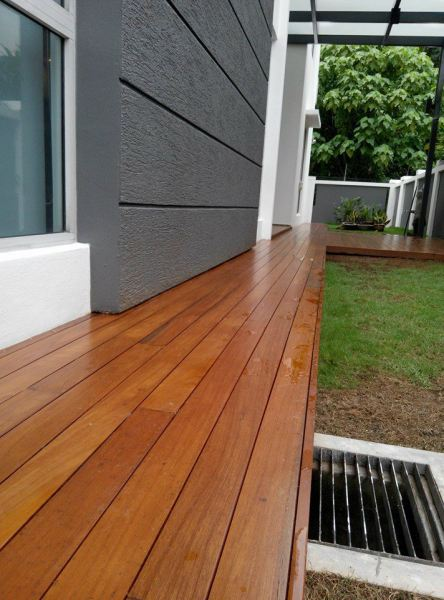 Chengal Decking with Transparent Coating Timber Decking Kuala Lumpur (KL), Selangor, Malaysia Supplier, Suppliers, Supplies, Supply | Summit World Resources