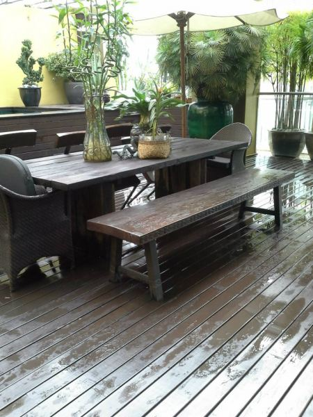 Chengal Decking with Walnut Coating Timber Decking Kuala Lumpur (KL), Selangor, Malaysia Supplier, Suppliers, Supplies, Supply   Summit World Resources