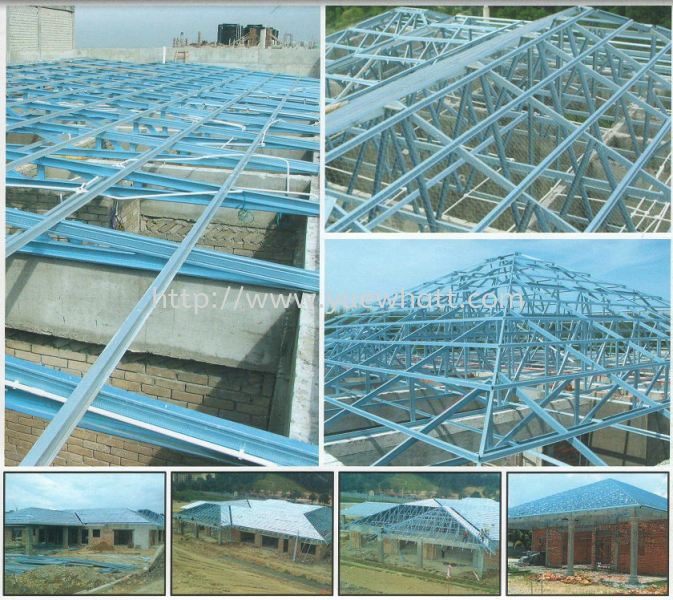 Steel Truss System Johor Bahru JB Malaysia Supply & Wholesale | Yue Whatt Trading Sdn Bhd