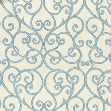 oval 03 ocean Cameo-Fabric Library By Acacia Fabrics Curtain Kuala Lumpur, KL, Malaysia. Supplier, Interior Design, Renovation, Service | Tara Decor
