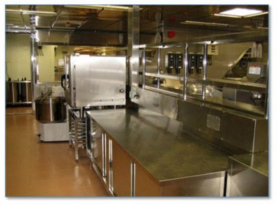 Offshore Topside Galley (kitchen)