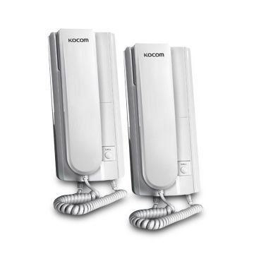 Wireless Interphones with FM Method FDSK and 230 to 430kHz Frequency Range - KWI-2000L Kocom Intercom System Selangor, Kuala Lumpur (KL), Malaysia, Ampang Supplier, Supply, Supplies, Installation | E-Zone Service Centre