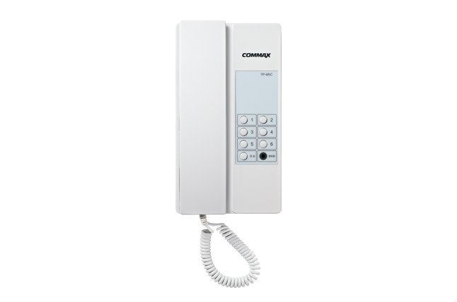 Inter Phonetp-6/12RC Commax Intercom System Selangor, Kuala Lumpur (KL), Malaysia, Ampang Supplier, Supply, Supplies, Installation | E-Zone Service Centre