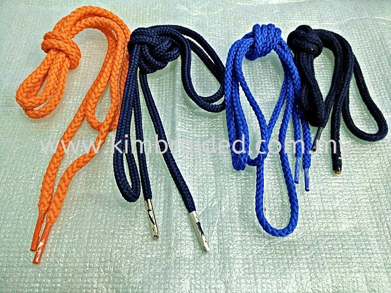 Garment Ropes With Metal Aglet Garment Rope Kajang, Selangor, Kuala Lumpur (KL), Malaysia. Manufacturer, Supplier, Supplies, Supply   Kim Braided Cord Industries