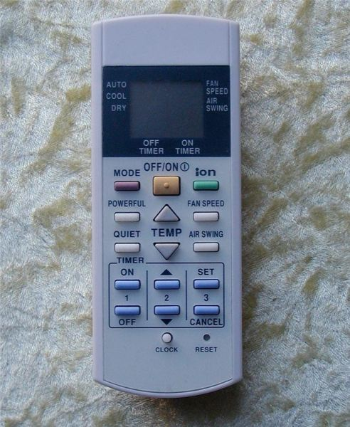 Panasonic Air-Cond Remote Contro Air-Cond Remote Control Selangor, Malaysia, Kuala Lumpur (KL), Puchong Supplier, Supply, Manufacturer, Distributor, Retailer | IWE Components Sdn Bhd