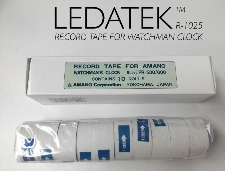 AMANO PR-600 RECORD TAPE Accessories Time Recorder Johor Bahru, JB, Johor, Malaysia. Supplier, Suppliers, Supplies, Supply | LEDA Technology Enterprise