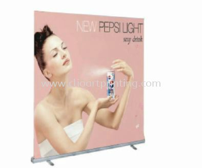 Roll Up Stand 2400 Roll Up Banner Johor Bahru JB Malaysia Printing Services, Prints   ClioArt Printing & Design