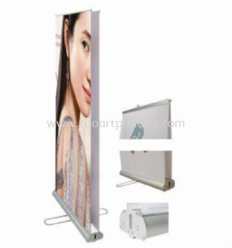 Double Side Roll Up Stand Roll Up Banner Johor Bahru JB Malaysia Printing Services, Prints | ClioArt Printing & Design
