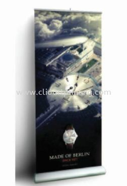Premium Roll Up 850 RX Roll Up Banner Johor Bahru JB Malaysia Printing Services, Prints | ClioArt Printing & Design