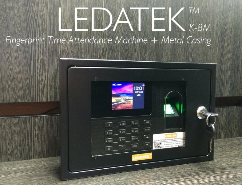 LEDATEK K-8M Fingerprint Time Attendance Machine Fingerprint Time Attendance System Johor Bahru, JB, Johor, Malaysia. Supplier, Suppliers, Supplies, Supply | LEDA Technology Enterprise