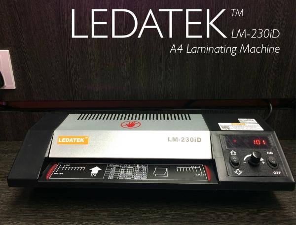 LEDATEK LM-230iD A4 Laminating Machine Laminator Johor Bahru, JB, Johor, Malaysia. Supplier, Suppliers, Supplies, Supply | LEDA Technology Enterprise