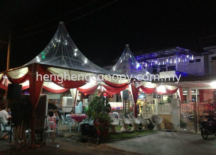 Transparent Canopy Tent Penang, Pulau Pinang, Sungai Bakap, Malaysia. Rental, Supplier, Supply, Setup, Service   Heng Heng Canopy