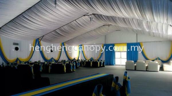 Scallop or Underlayer Decorations Penang, Pulau Pinang, Sungai Bakap, Malaysia. Rental, Supplier, Supply, Setup, Service | Heng Heng Canopy