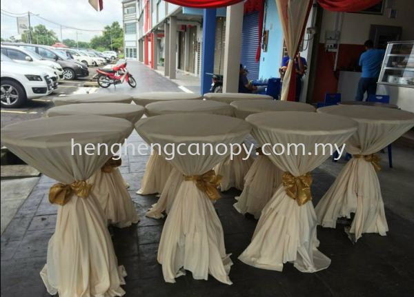 table with cover  Table or chairs for rent Penang, Pulau Pinang, Sungai Bakap, Malaysia. Rental, Supplier, Supply, Setup, Service   Heng Heng Canopy