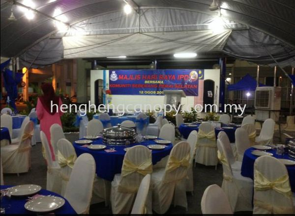 table and chairs with cover  Table or chairs for rent Penang, Pulau Pinang, Sungai Bakap, Malaysia. Rental, Supplier, Supply, Setup, Service | Heng Heng Canopy