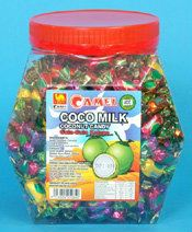 C26-2 Coconut Candy Twist Coconut Candy Camel Selangor, Kuala Lumpur (KL), Malaysia. Wholesaler, Manufacturer, Supplier, Supply | Candy Empire Industries Sdn Bhd