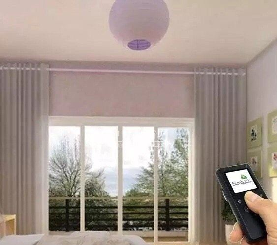 Curtain Automation System£¨remote control£© Remote Curtain System Accessories  Johor Bahru, JB, Johor, Malaysia. Supplier, Design, Installation   Middle Curtains Design & Furnishing