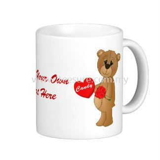valentines_teddy_bear_with_roses_loveheart_candy_mug Mugs Malaysia, Selangor, Puchong Supplier Supply Manufacturer | Tee Sure Sdn Bhd