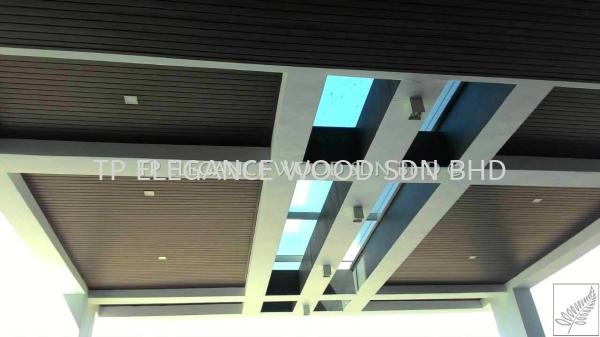 EW3001 (WPC Composite - Chestnut)  Composite Ceiling WPC COMPOSITE  Johor Bahru (JB), Malaysia, Singapore, Gelang Patah Supplier, Manufacturer, Installation, Supply | TP Elegance Wood Sdn Bhd