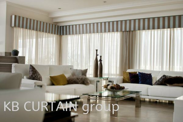 Sheer or Day Curtain Curtain Johor Bahru (JB), Skudai, Singapore Design, Supplier, Renovation | KB Curtain & Interior Decoration