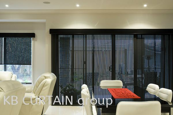 Panel Blinds Blinds (Indoor) Johor Bahru (JB), Skudai, Singapore Design, Supplier, Renovation | KB Curtain & Interior Decoration