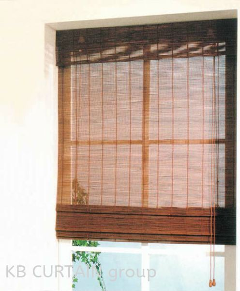 Bamboo Chicks Blinds (Outdoor) Johor Bahru (JB), Skudai, Singapore Design, Supplier, Renovation | KB Curtain & Interior Decoration