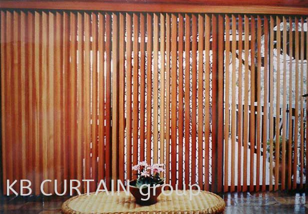Timber Blinds Blinds (Outdoor) Johor Bahru (JB), Skudai, Singapore Design, Supplier, Renovation | KB Curtain & Interior Decoration